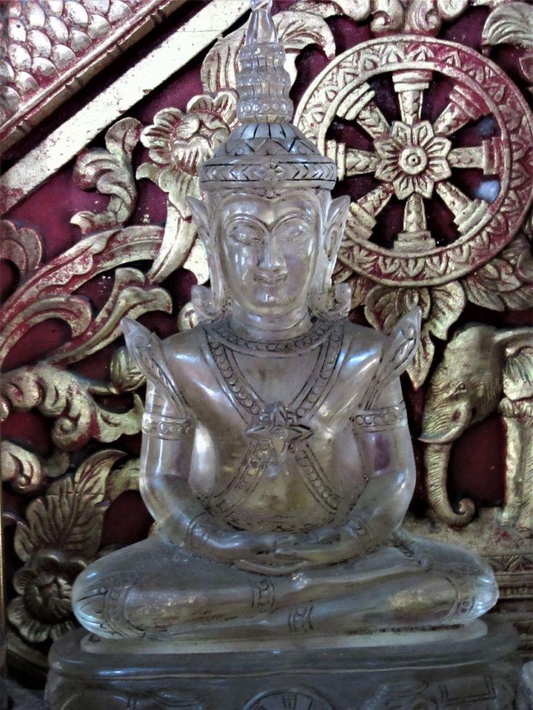 Crystal Buddha, Phra Satang Man, in Wat Chiang Man Chiang Mai