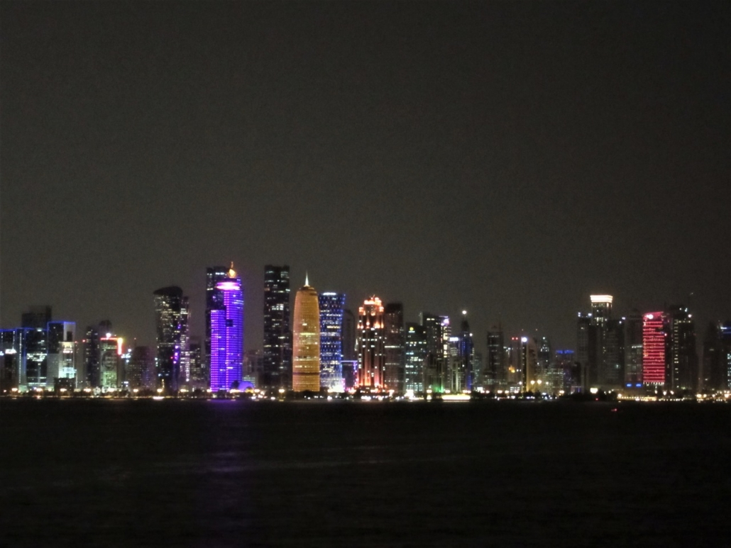 Doha by night