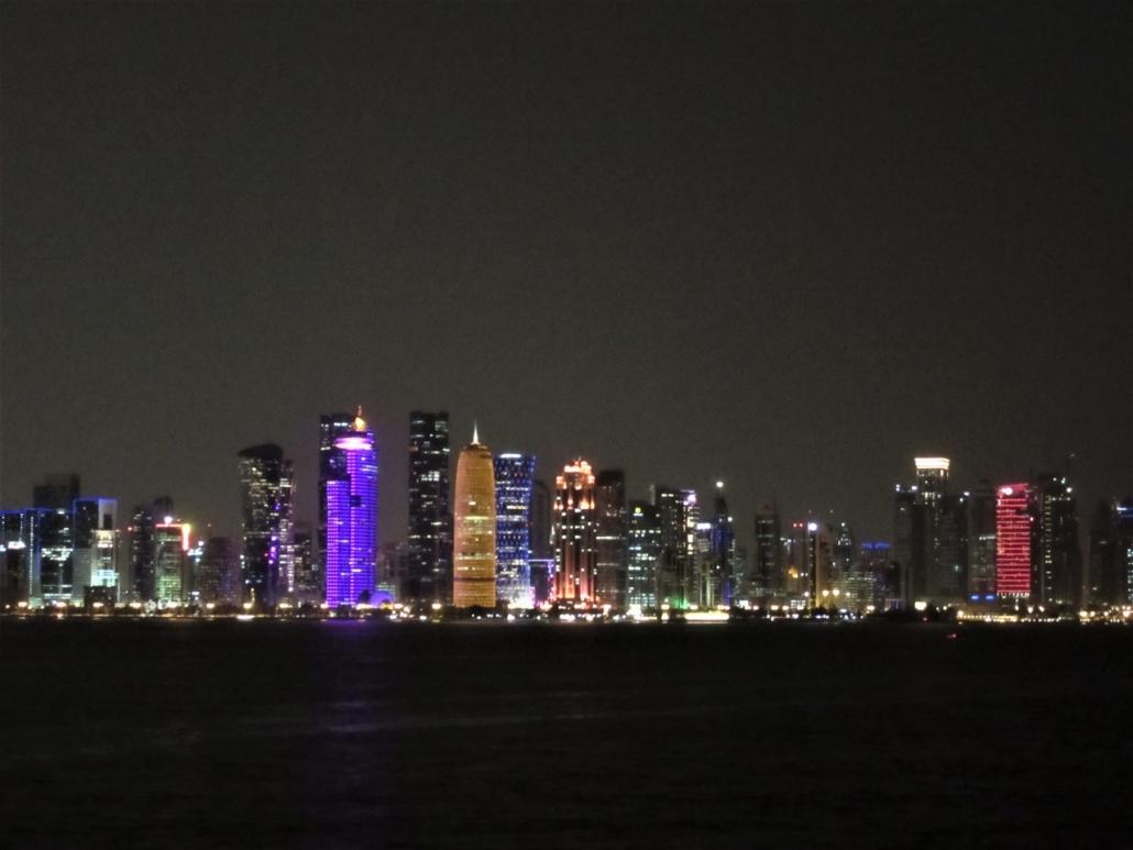 Doha by night