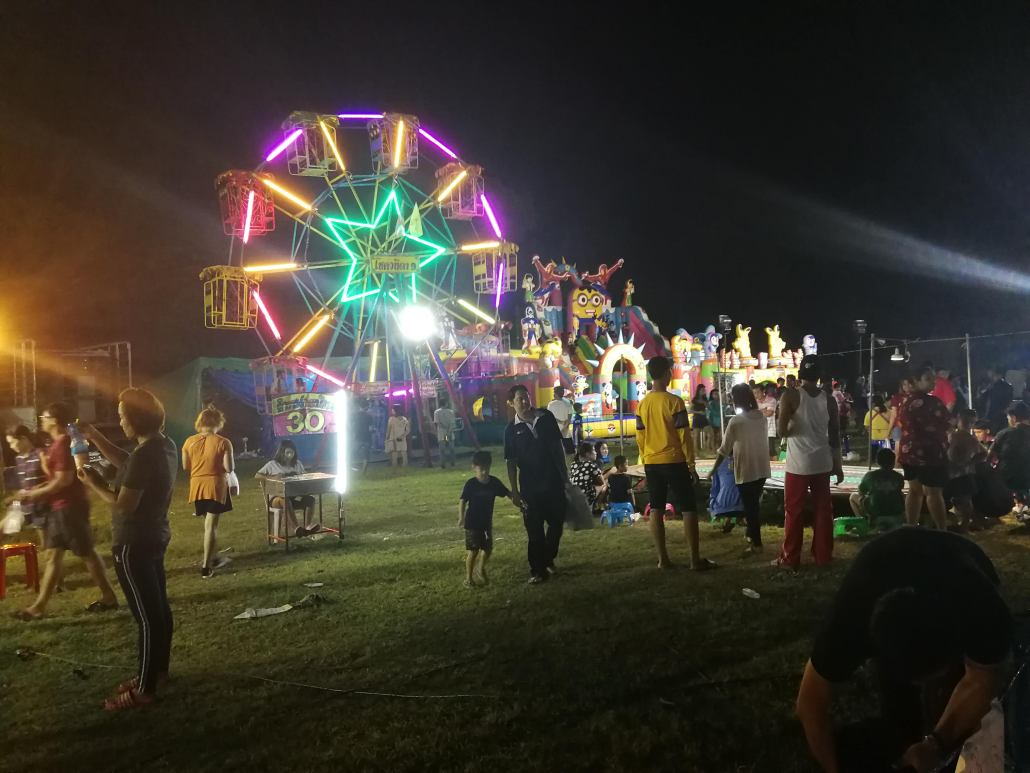 Ferris Wheel kanchanaburi night market