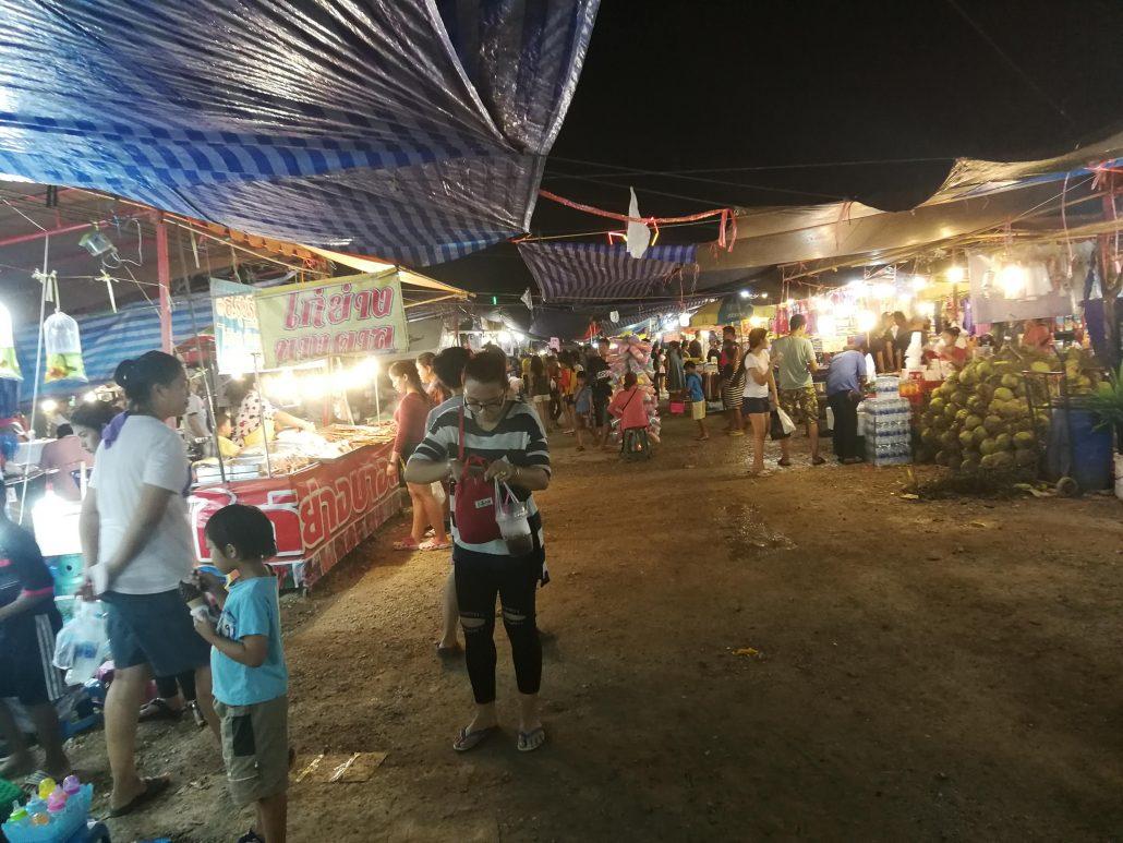 Market Stalls  kanchanaburi night market