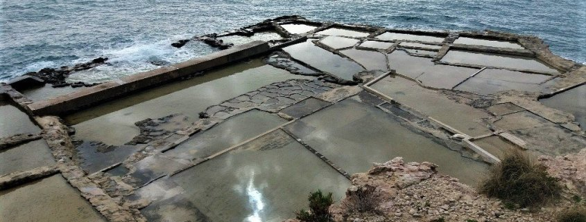 Salt pans at Delimara Point