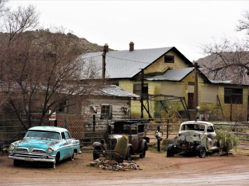Route 66 to Williams AZ