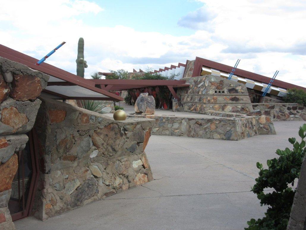 Frank Lloyd Wright Taliesin West Scottsdale AZ