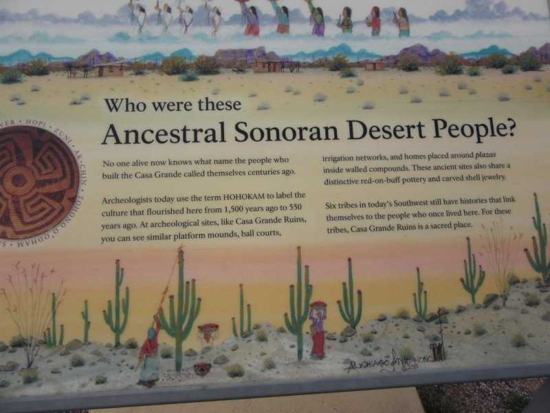 Ancestral Sonoran Desert People of Casa Grande Ruins National Monument, Coolidge, AZ
