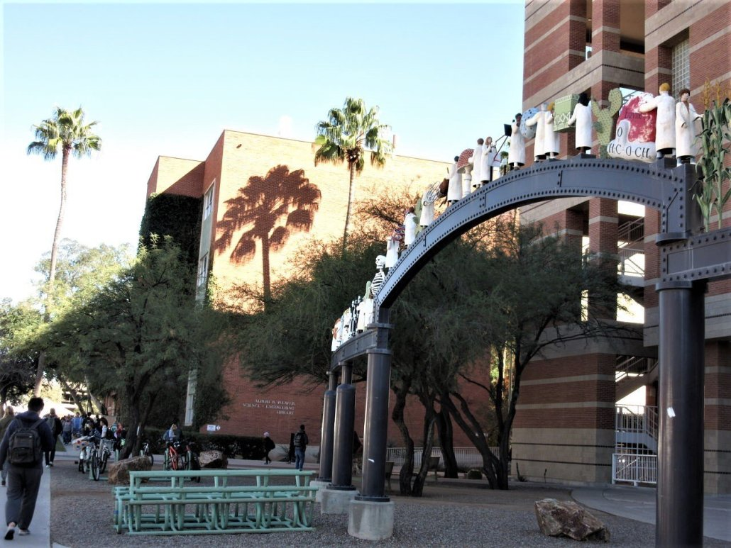 Gateway to the medical faculty in Univeristy of Tucson, Tucson Arizona