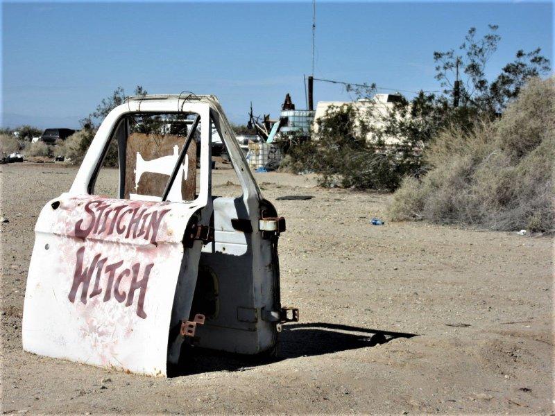 Stitchin' Witch Slab City CA