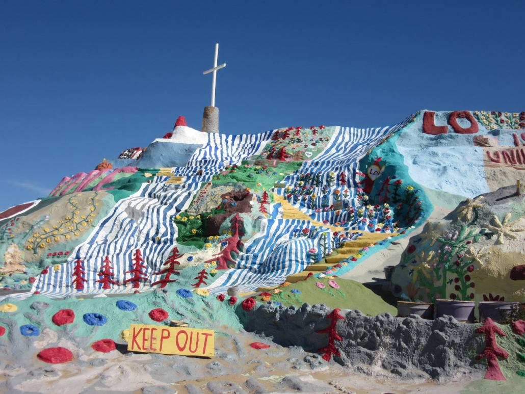 Salvation Mountain Slab City CA