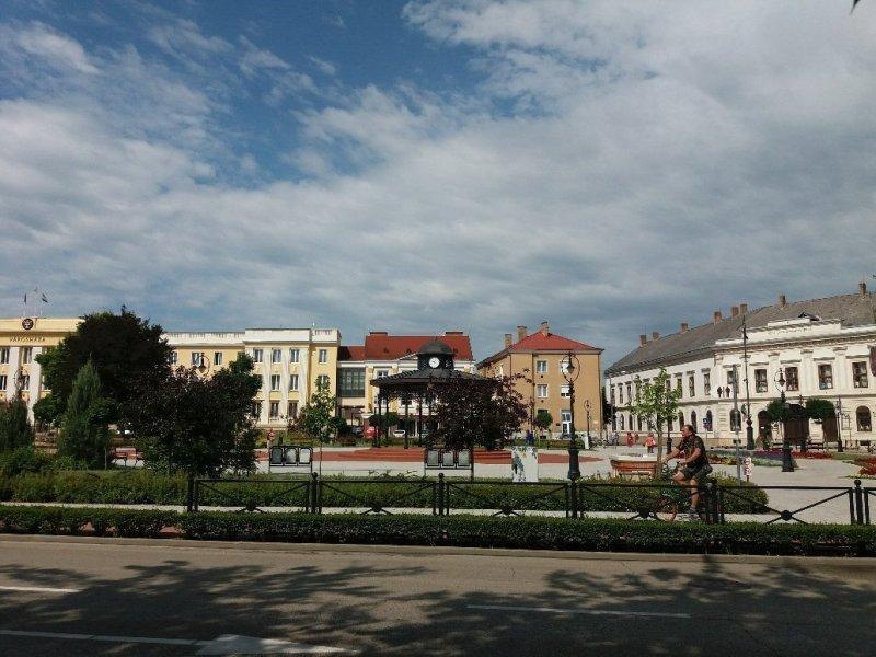 Erszébet tér Nagykanizsa Hungary