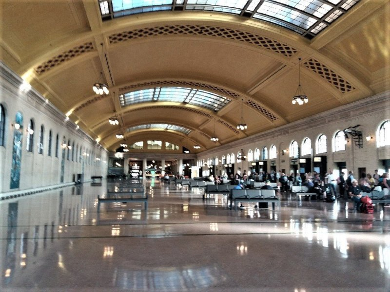Waiting room, Union Depot St Paul MN