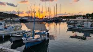 Sunrise at Ermioni Harbour, Greece