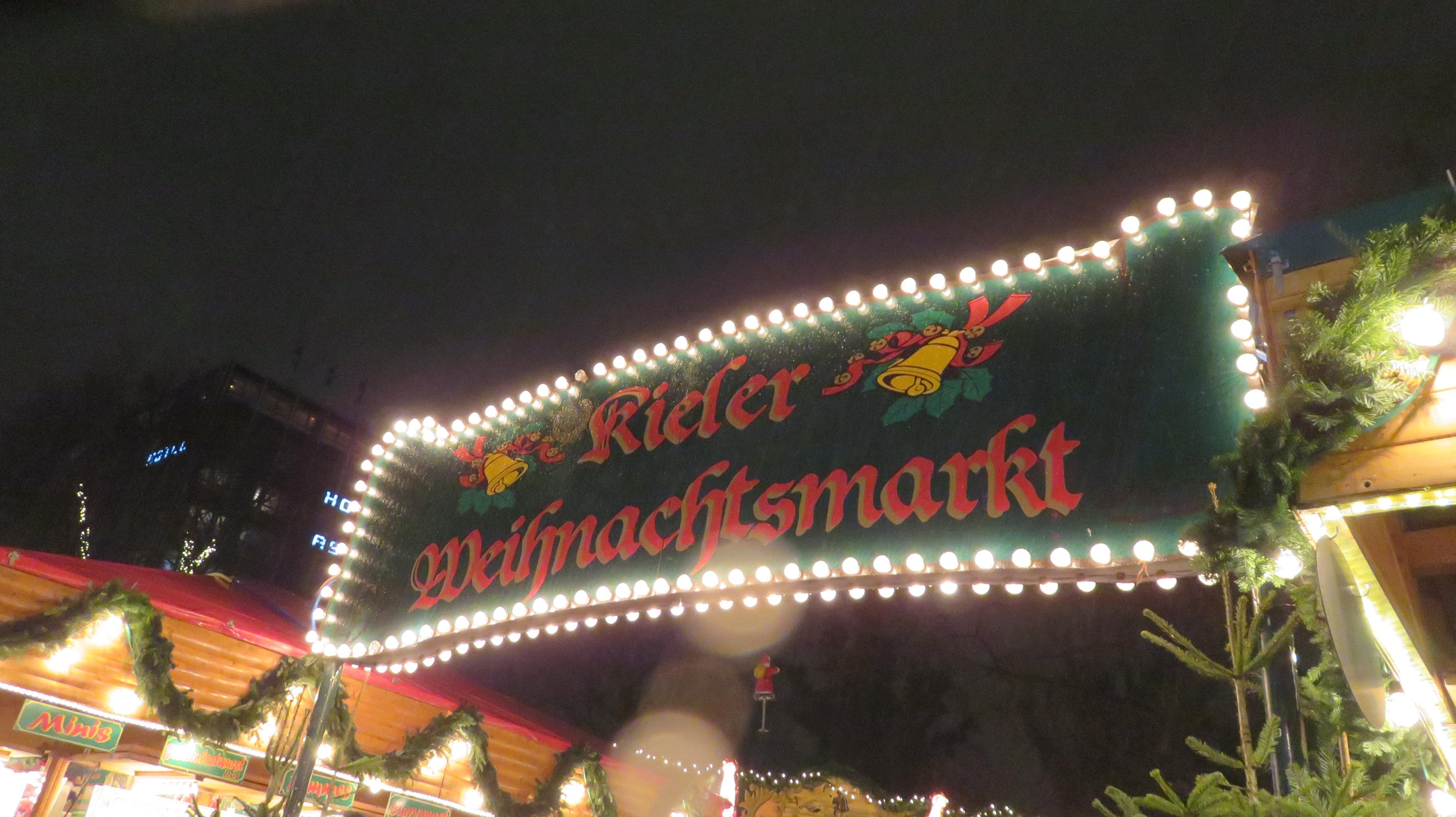 Kieler Weihnachtsmarkt, marché de Noël en Allemagne