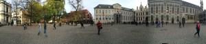 Multi Archeticture Square in Bruges