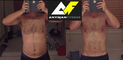 This is Scott. After kids, he was confused and lost with his fitness, and came to us for a plan. He was rewarded with defined adonis lines - and loads of confidence.