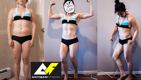 Jen Lifts Before and After Final