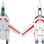 Kaiyodo VF-1 Yamaguchi 3