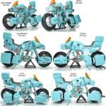 CMs Ride Armor Types 1