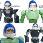 CMs ride armor close-up