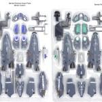Bandai V2 VF-25A Super Parts 2