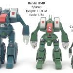 Bandai HMR Spartan 12