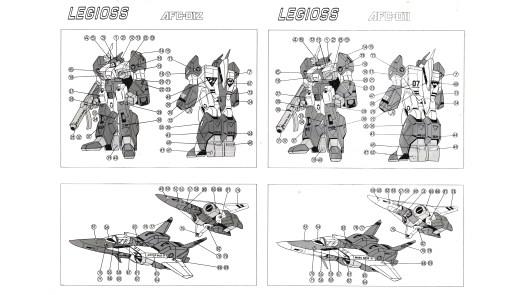 Gakken 1/35 Alpha/Legioss Toys
