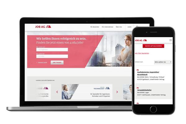 anyMOTION JOB AG Relaunch Neue Webpräsenz des ausgezeichneten Personaldienstleisters