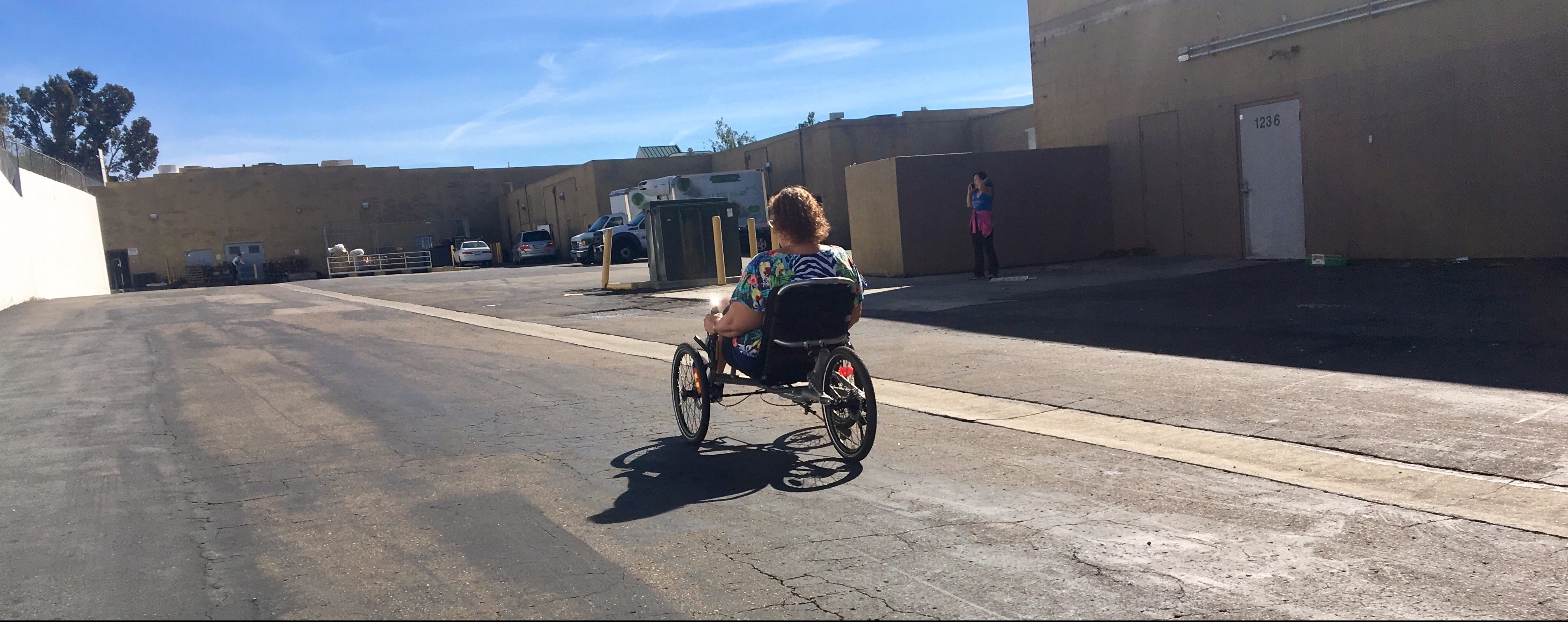 What is a recumbent trike?
