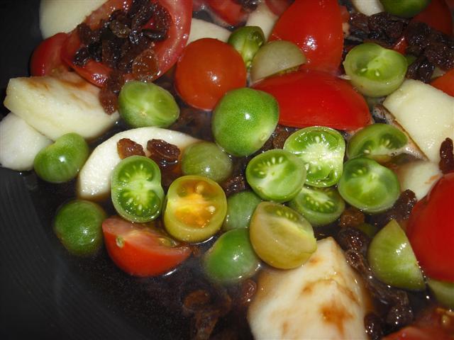 Green & Red Tomato Chutney  (2/4)