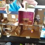 Cardboard Box Barbie House Cheap Toys For Sale