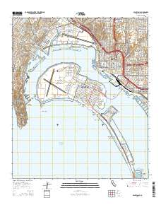 Naval Base Point Loma Map : naval, point, Naval, Point, Diego, County,, California