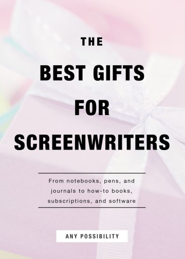 The Best Screenwriting Gifts for Screenwriters