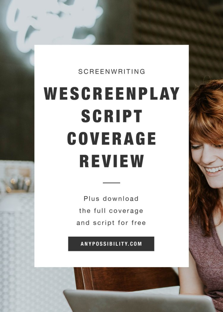 WeScreenplay Script Coverage Review