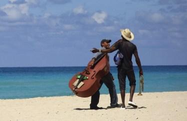 musician, Cuba, beach, writer