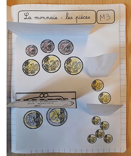 Leçon à manipuler - La monnaie