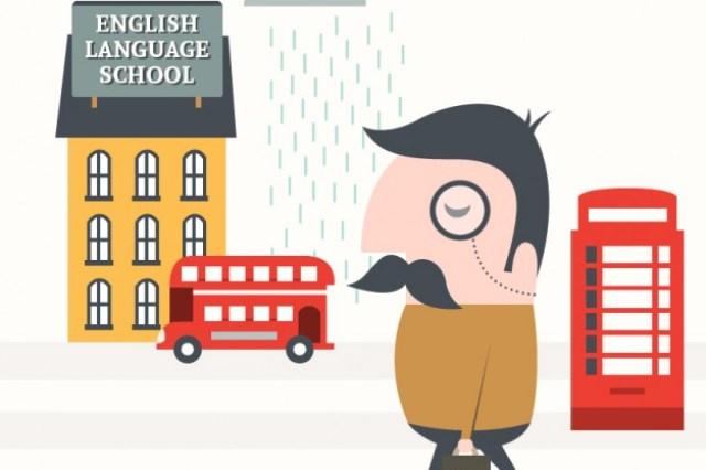 Ilustración Aprender Inglés