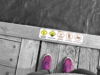 My Feet at The Pier
