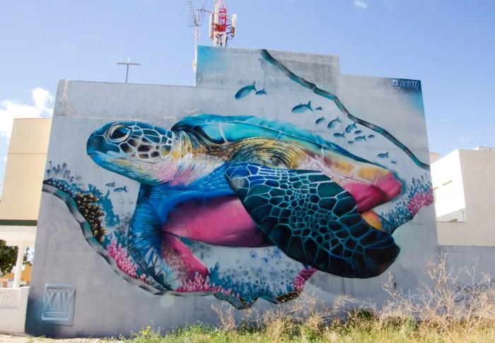 Los Alcazares Murals