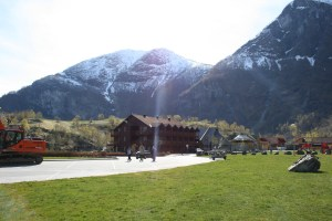 Mountains in Flam