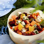 Recipe: Moroccan Salad with Goat's Cheese, Beetroot and Oranges