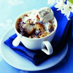 Recipe: Pear Crumble with Chocolate Chunks and Hazelnuts