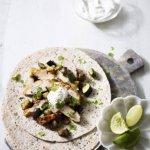 Recipe: Harissa-baked chicken flatbreads