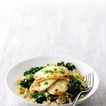 Recipe: Warm Couscous Salad with Halloumi