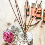 In the home DIY: Make your own reed diffuser.
