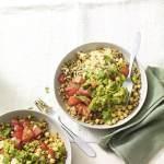 Recipe: Spicy wholegrain bowl with tomato & avocado