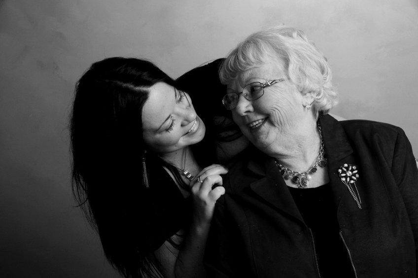 grandmother grandaughter