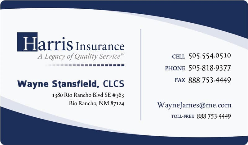 Online Business Cards Templates Insurance Business Card