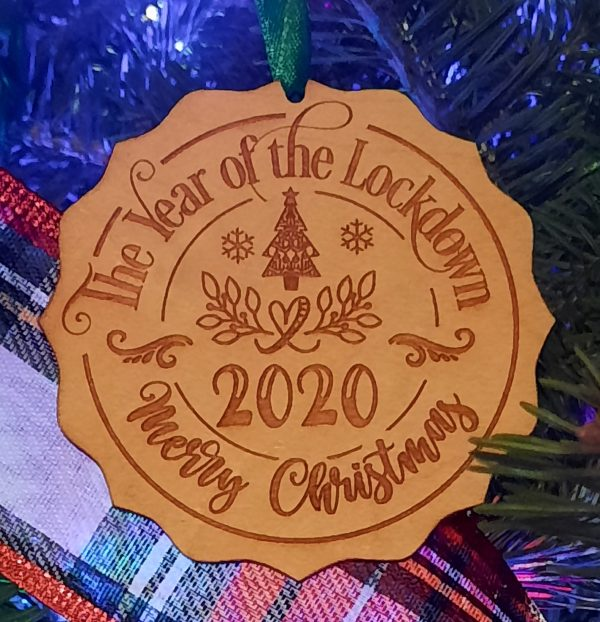 Year of the Lockdown Ornament
