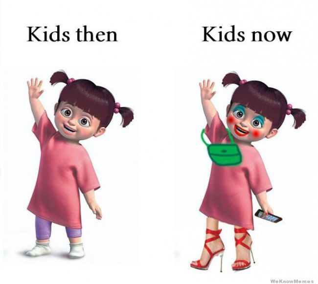 Parenting Now & Then