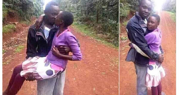 Man Breaks the Internet with Loved Up Photos with a Minor