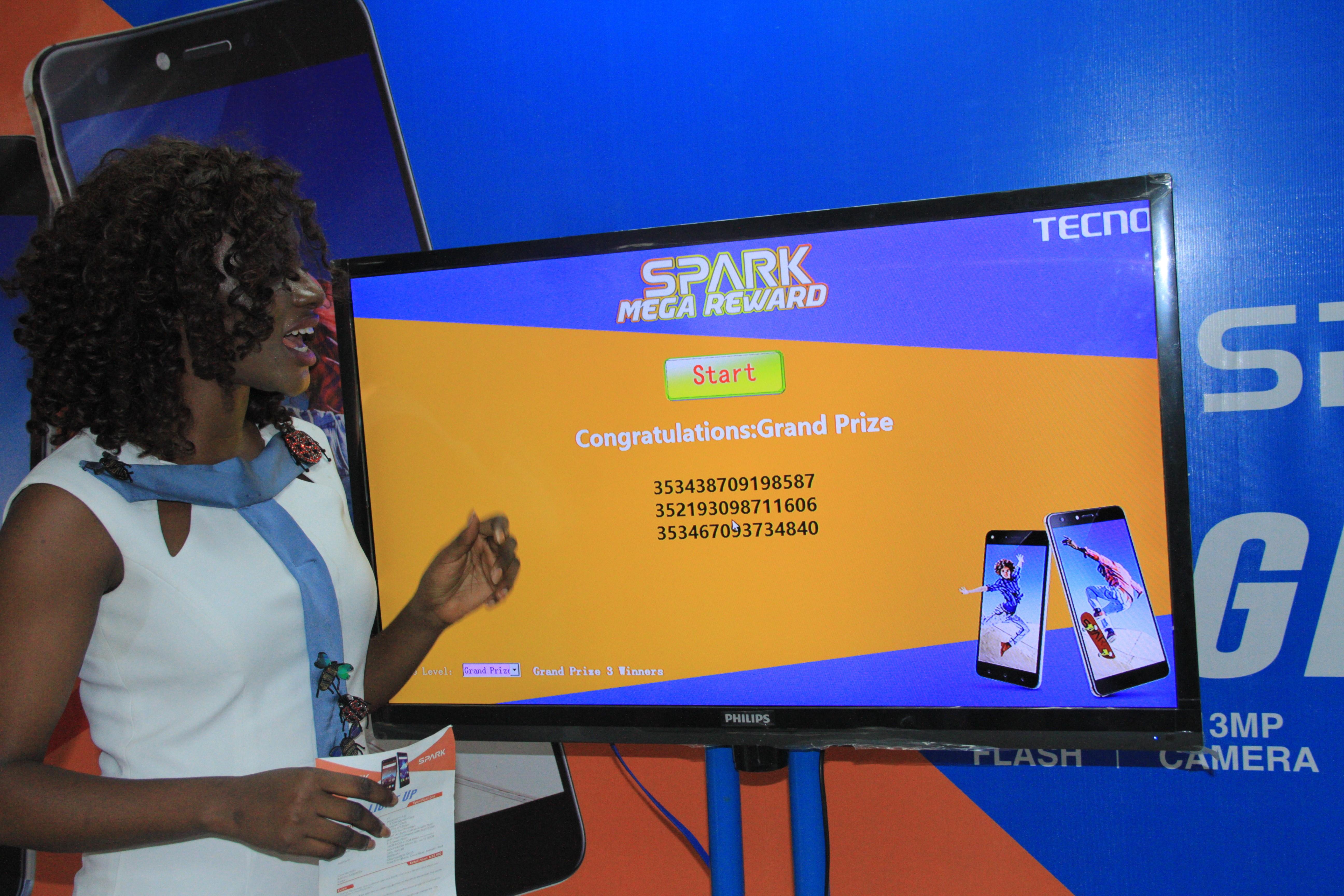 Tecno Mobile Rewards Fans With Fantastic Prizes In The Spark Mega Reward Bonanza